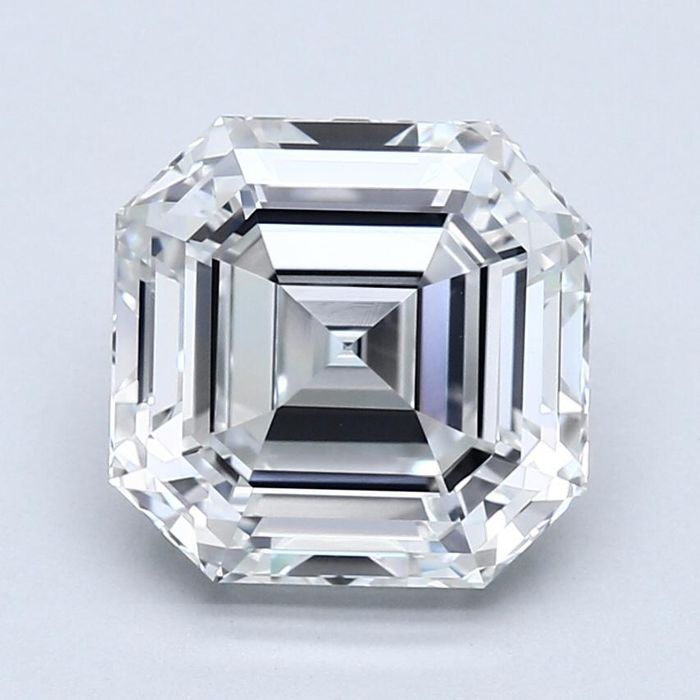 1 pcs Diamanter - 5.06 ct - Smaragd - G - VS1