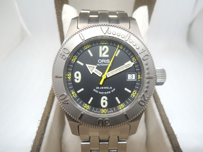 Oris - Crown Diver 7502 Date - Heren - 2000-2010
