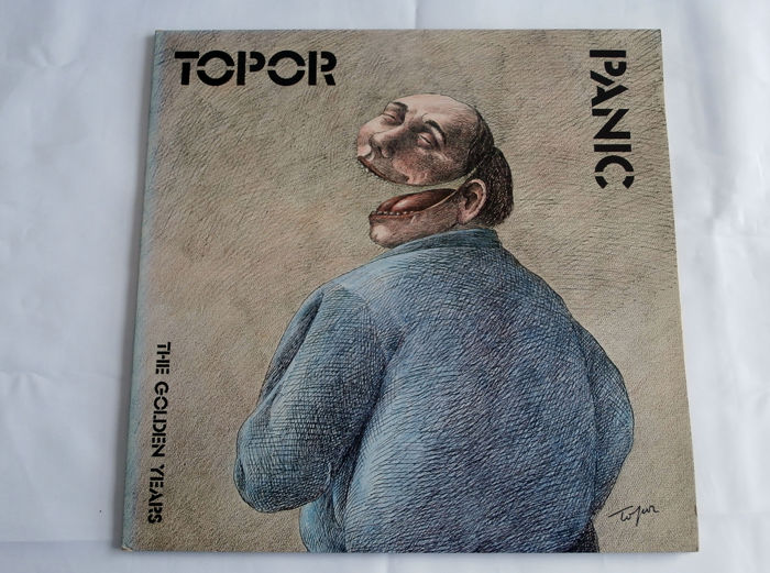 Roland Topor - Panic - The Golden Years - Limited edition, LP Album - 1975