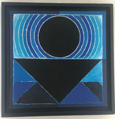 S.H.Raza - Limited edition Signed and dated by S.H.RAZA