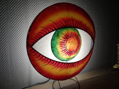Joly's   Collection - Vloerlamp -  TYPE : Special. Oog  - Haren - Wimpers