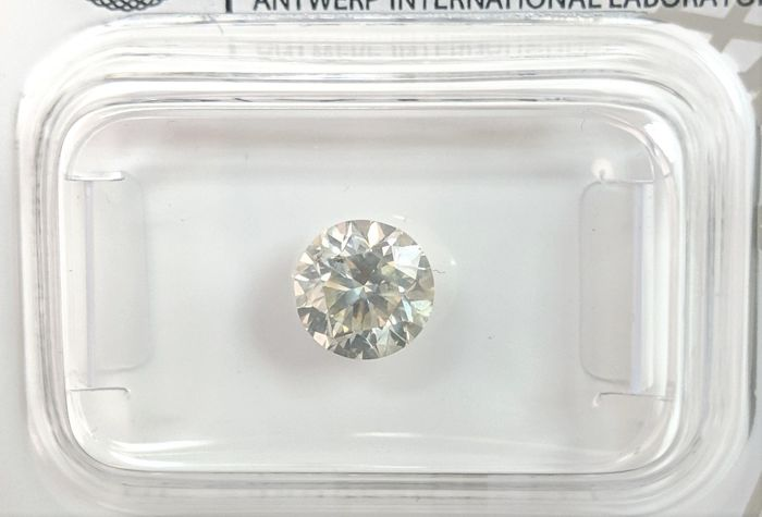 Diamant - 0.94 ct - Briljant - K - No Reserve Price, SI1
