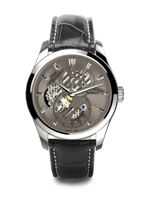 Armand Nicolet - L16 Small Seconds Limited Edition - A132AAA-GR-P713GR2 - authorisierter Händler - Uomo - 2011-presente