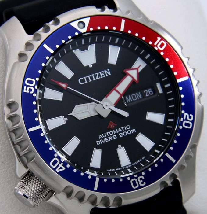 "Citizen - ""NO RESERVE PRICE""- Promaster Automatic Diver's 200M - Limited Edition - *ONLY 1000PCS IN THE WORLD* - Men - 2018"