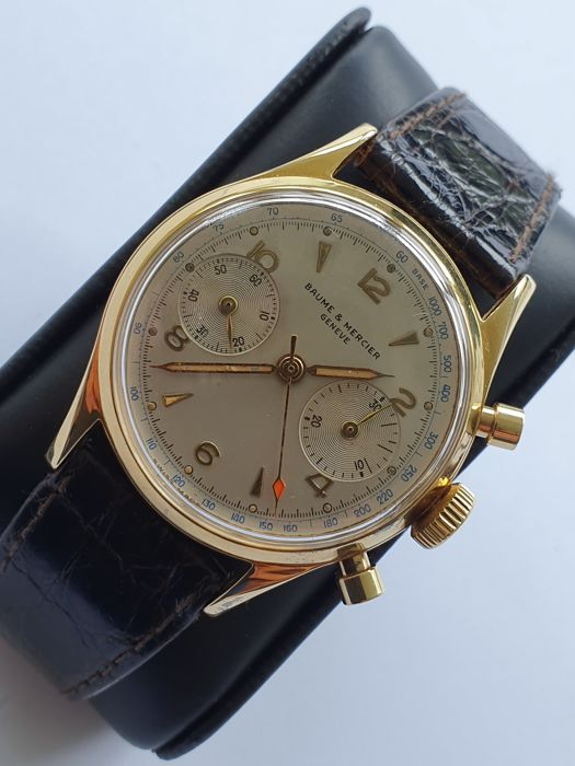 Baume & Mercier - Vintage Chronograph Wristwatch - Heren - 1960-1969