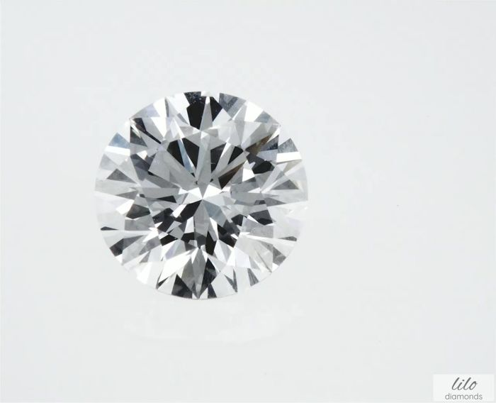 Diamant - 2.06 ct - Brillant - D (farblos), HPHT - VVS1