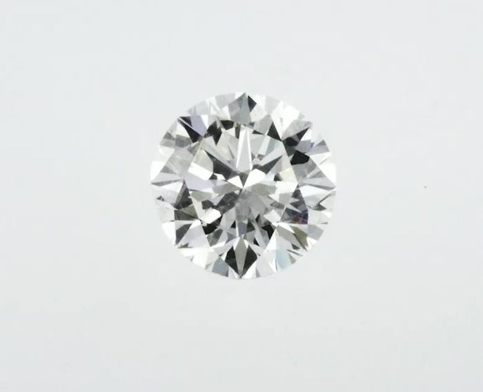 Diamant - 3.83 ct - Brillant - G - VS1