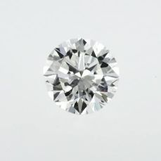 1 pcs Diamant - 3.83 ct - Brillant - G - Reinheit verbessert, VS1