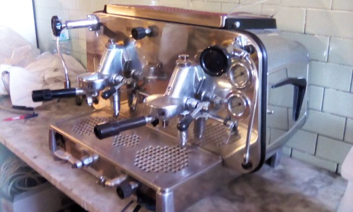 vintage e61 faema coffee machine (1) - Steel (stainless)