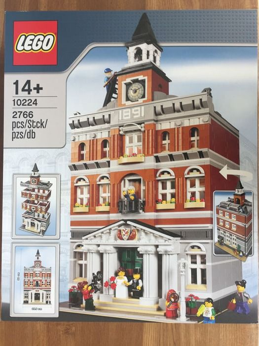 lego creator expert 10224 construction toy town hall catawiki. Black Bedroom Furniture Sets. Home Design Ideas