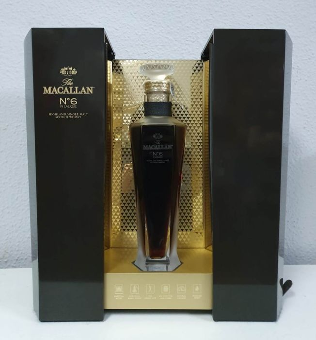 Macallan no. 6 in Lalique Decanter - 700ml