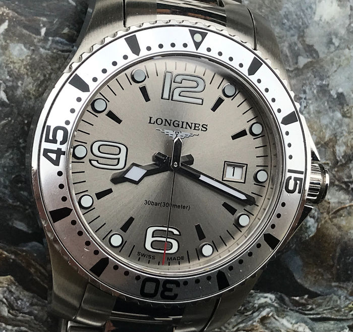 Longines - Hydro Conquest Oversized - L 3.640.4 - Heren - 2000-2010
