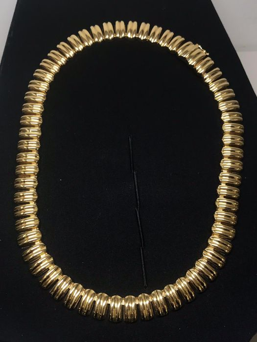 18 kt yellow gold - Necklace