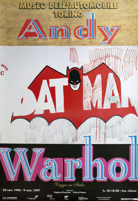 Museo dell'Automobile Torino - Batman, after Andy Warhol - 1997