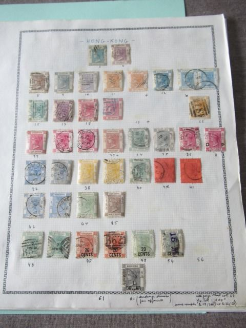 Hongkong - Almost complete collection of stamps