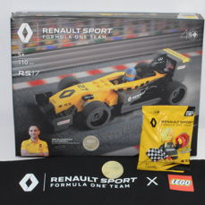 LEGO - Professionista Certificato -  1000 copies in the world -  Renault Sport Formula One Team R.S.17 + Nico Hülkenberg Minifig + BAG + TOKEN  - 2000-presente - Francia