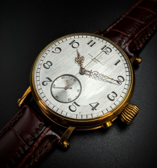 Patek Philippe - marriage watch chronograph  - Men - 1850-1900
