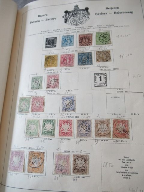 Wereld - Collection of classic stamps