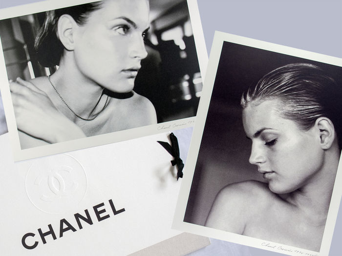 Karl Lagerfeld (1933-2019)/Chanel - (25x) Collection Cruise (Croisière) presentation portfolio, 1996/1997