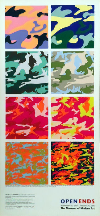 Andy Warhol - Open Ends, MoMA - 2001