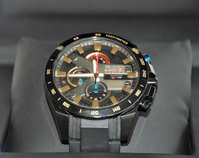 937e03b4ee67 CASIO Edifice watch collection - Infiniti Red Bull Racing Limited Edition - EFR  540 RB -