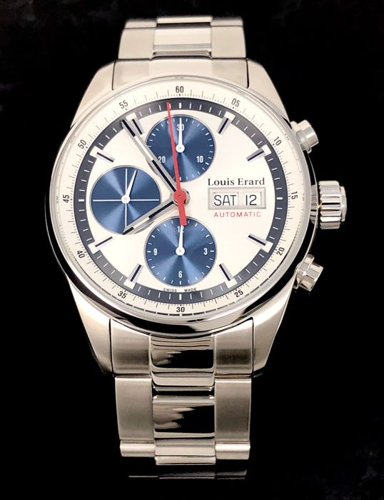 Louis Erard - Automatic Chronograph Watch Heritage - 78104AA11.BMA22 - Homme - BRAND NEW
