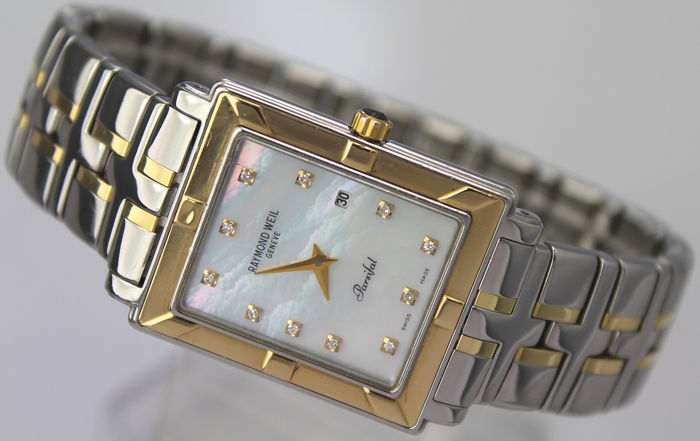 """Raymond Weil - Parsifal, Diamond """"NO RESERVE PRICE""""  -  Model No 9330  - Hombre - 2011 - actualidad"""