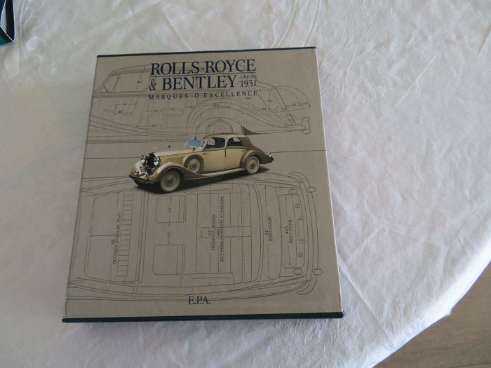 Boeken - Rolls Royce & Bentley depuis 1931.Marques d'excellence - 1990