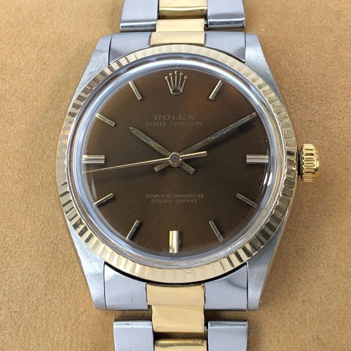Rolex - Oyster Perpetual Brown Dial - 1003 - Uniszex - 1960-1969