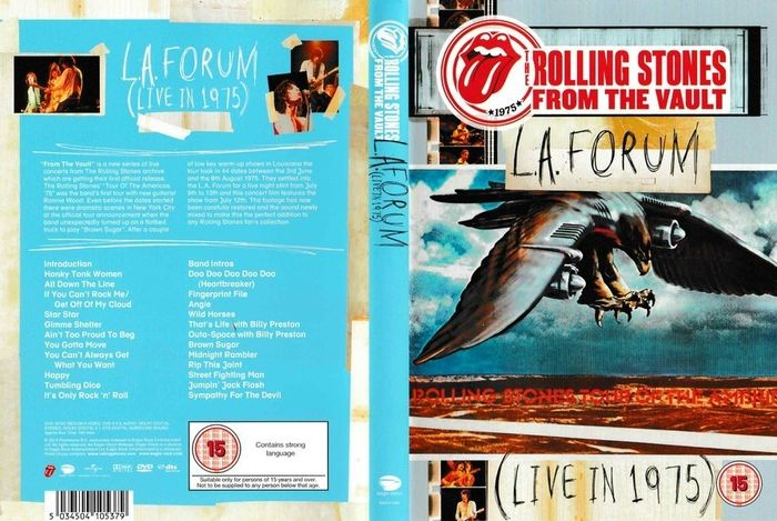 Rolling Stones - From the Vault:The Complete Series 1 - DVD