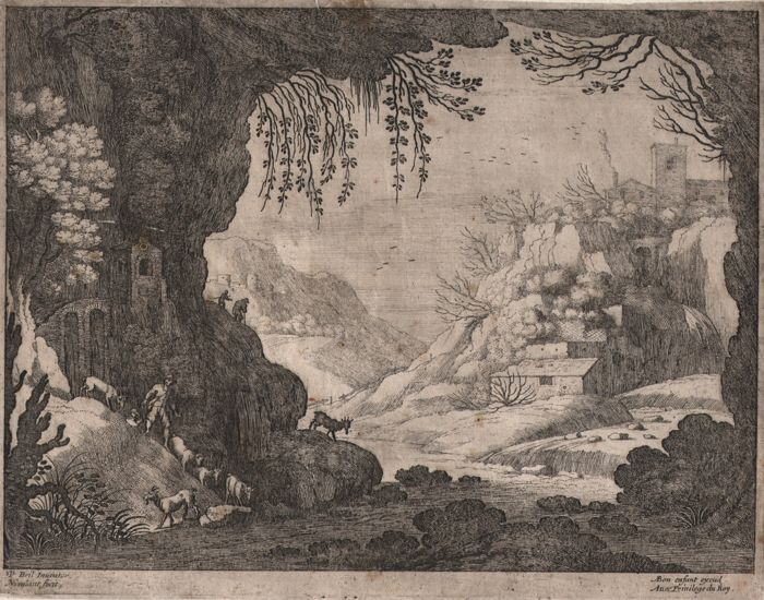 Willem  van Nieulandt II  (1584-1635) - The Italian landscapes