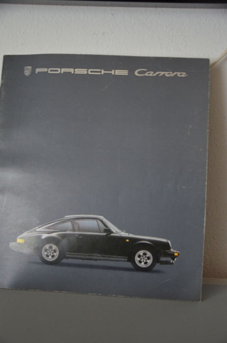 Brochures / Catalogi - Orginal Porsche 911 Carrera 911 Turbo Prospekt Broschüre  - 1984-1984 (1 items)