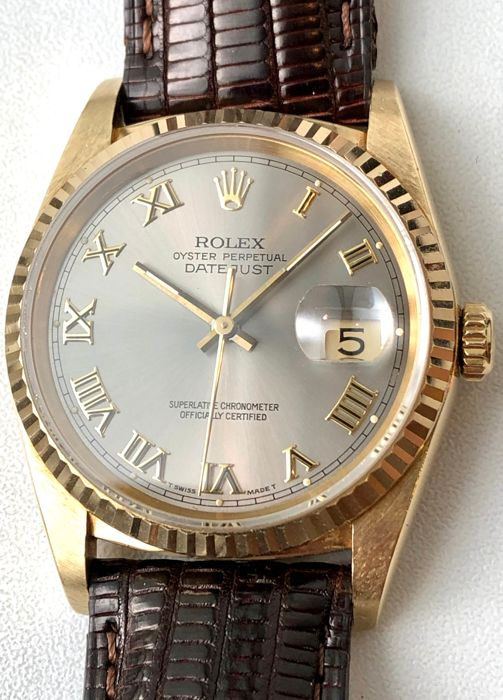 Rolex - 16238 Oyster Perpetual Datejust  - Unisex - 1980-1989