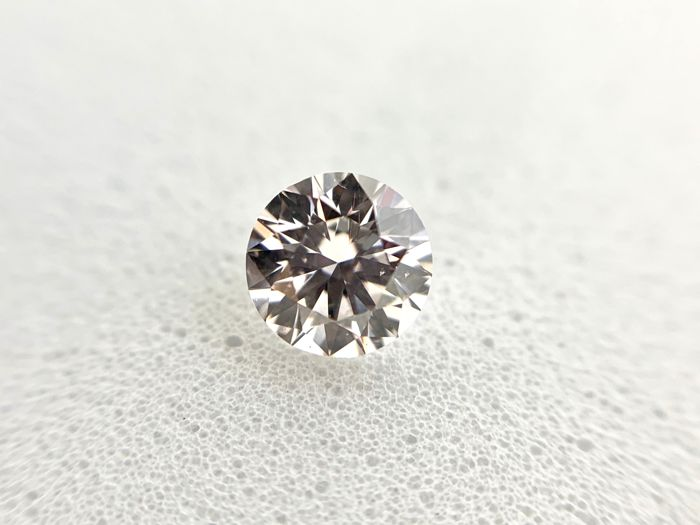 1 pcs Diamante - 0.30 ct - Brillante - J - VS1