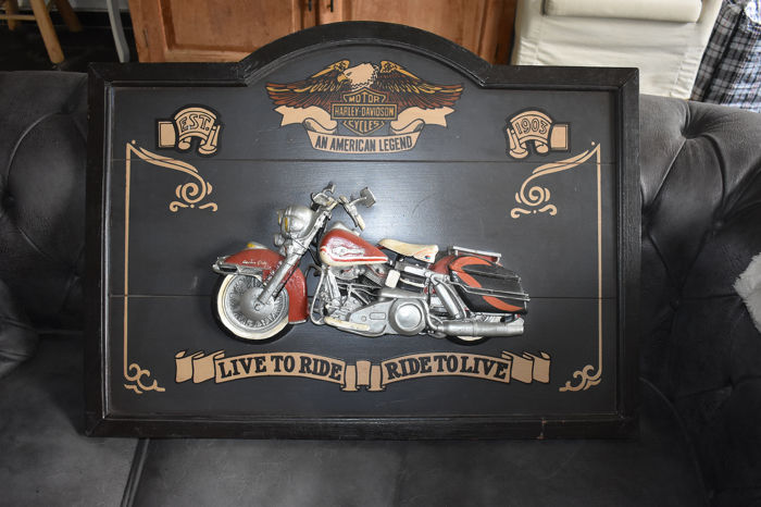 Decoratief object - Harley Davidson - 1985