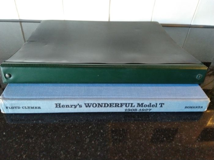 Books - Engine Tuning Data - Henry's Ford Wonderful Model T - 1955-1970