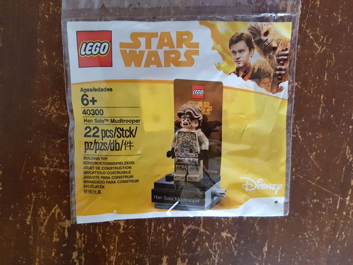 Lego 40300 Star Wars Han Solo Mudtrooper Exclusive Polybag New Sealed