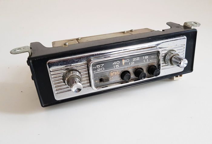 Car radio - AREL  type: ARX    - 1966