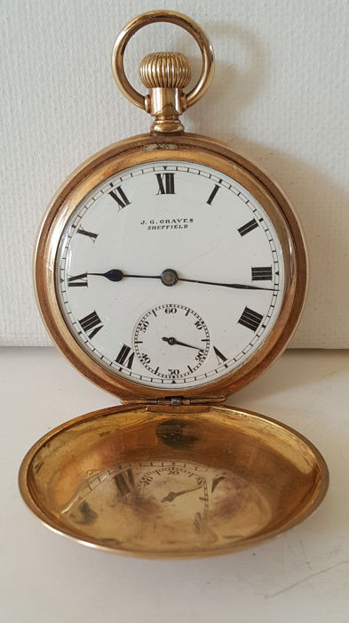 J.G. Graves  - pocket watch NO RESERVE PRICE - Homem - 1900s