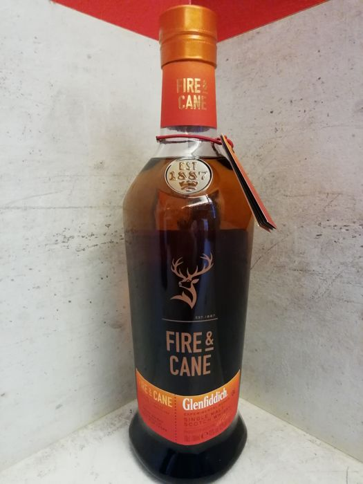 Glenfiddich Experimental series #04 Fire and Cane - 0,7 Liter