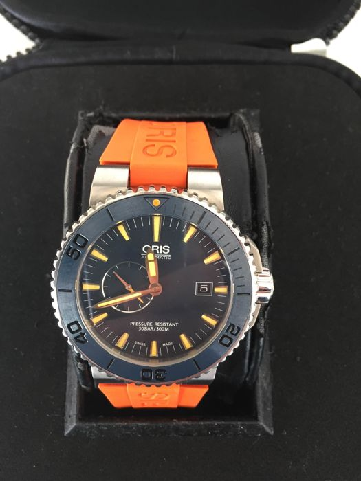 "Oris - Aquis Maldives Limited Edition - ""NO RESERVE PRICE"" - 01 643 7654 7185-Set RS - Heren - 2011-heden"
