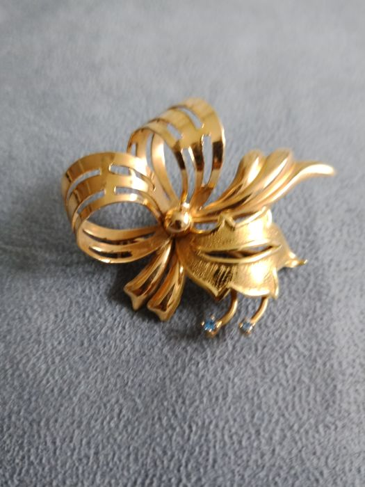 18 carats Or, Or jaune - Broche