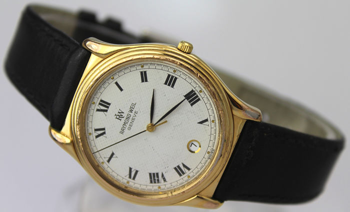 Raymond Weil - Swiss Made - Gold Plated  - Hombre - 2011 - actualidad