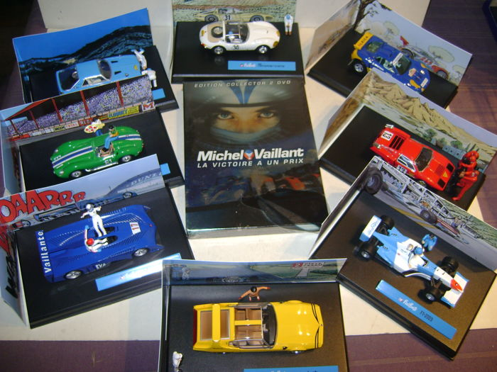 Jean Graton Editions - 1:43 - 8 Voitures de Course + DVD Collector