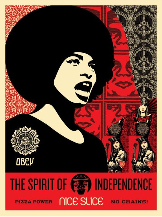 Shepard Fairey (OBEY) - Spirit Of Independence