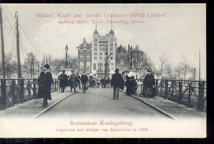 Nederland - Europa, Rotterdam - old and very old cityscapes - Ansichtkaarten (Collectie van 101) - 1900-1950