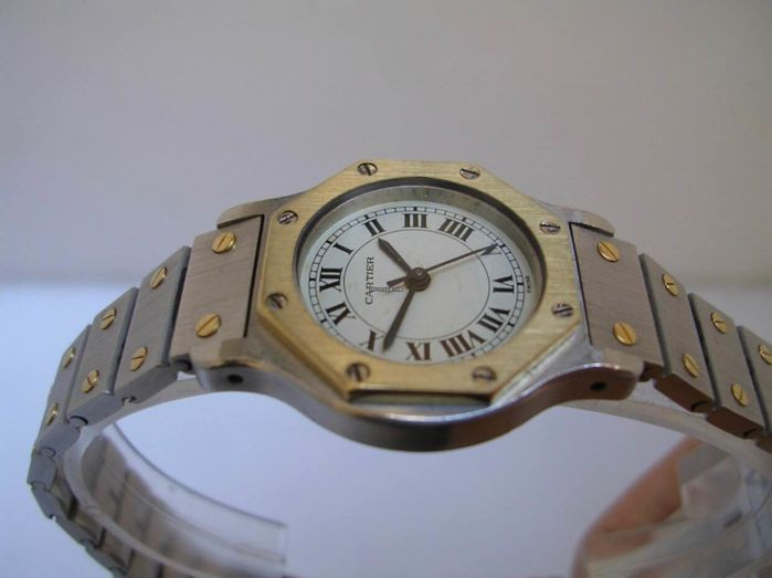 Cartier - Santos Octagon  - Women - 1990-1999