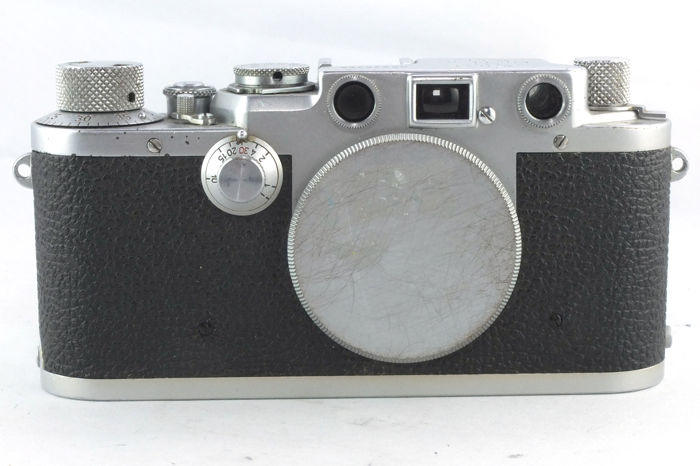 Leica IIIF Red Dial, Body only with cap (1950/1951)