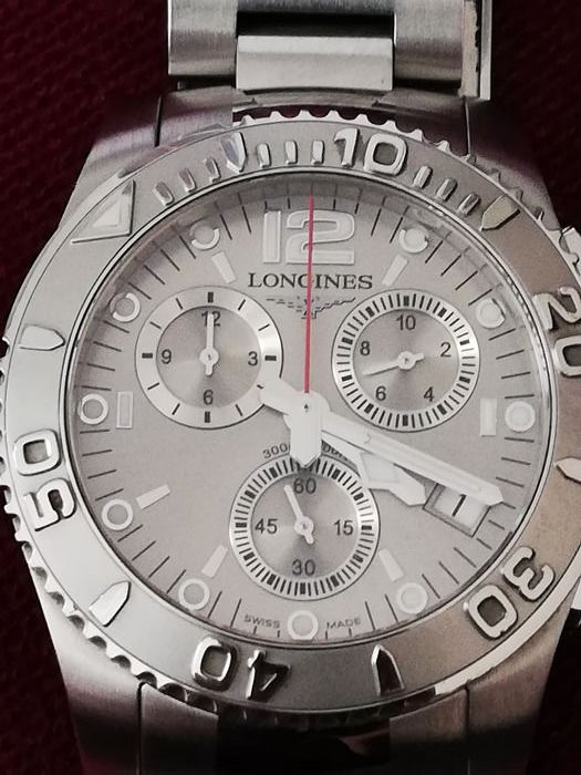 Longines - Hydro Conquest Choronograph - L.3.6724 - Heren - 2000-2010