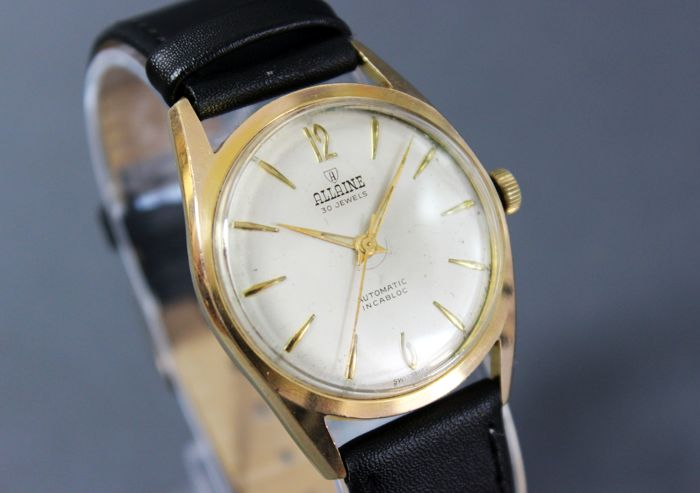 Allaine - Automatic 30 jewels - Felsa 4000n - Heren - 1970-1979